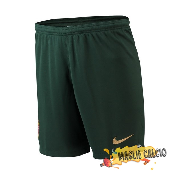 Accessori Maglie Calcio Nike Away Pantaloncini AS Monaco 18-19 Verde