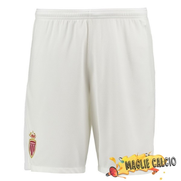 Accessori Maglie Calcio Nike Home Pantaloncini AS Monaco 17-18 Bianco
