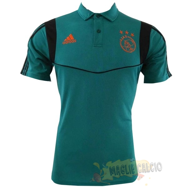 Accessori Maglie Calcio Adidas Polo Ajax 2019 2020 Verde