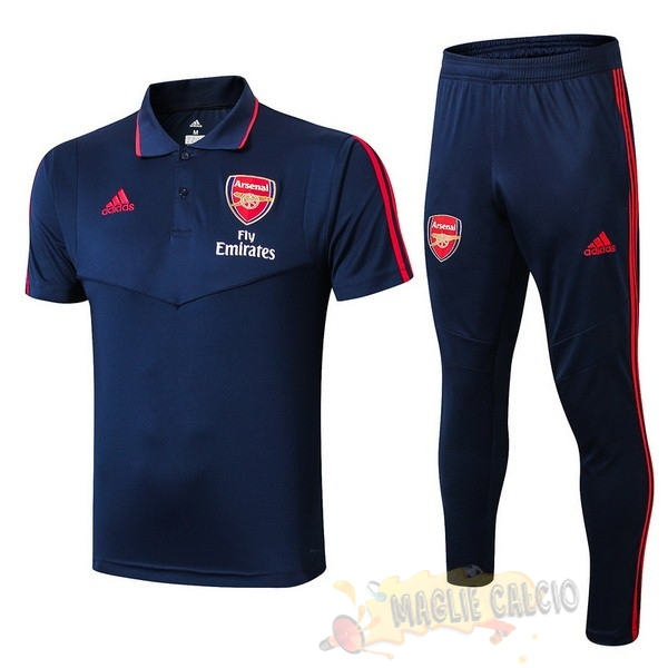 Accessori Maglie Calcio adidas Set Completo Polo Arsenal 2019 2020 Blu Navy