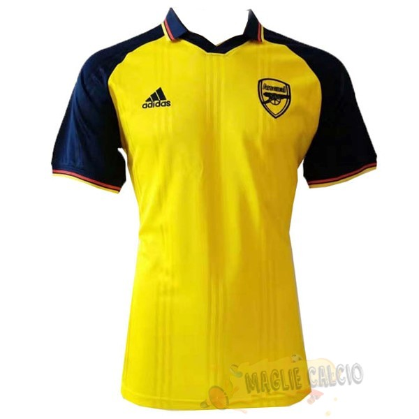Accessori Maglie Calcio adidas Polo Arsenal 2019 2020 Blu Giallo