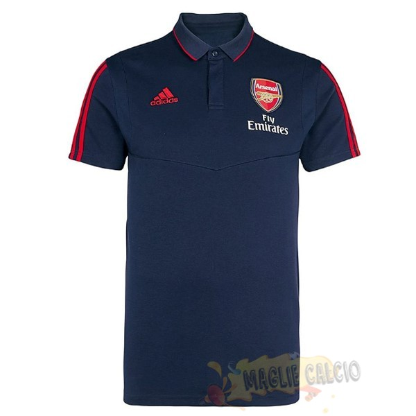 Accessori Maglie Calcio adidas Polo Arsenal 2019 2020 RossoBlu