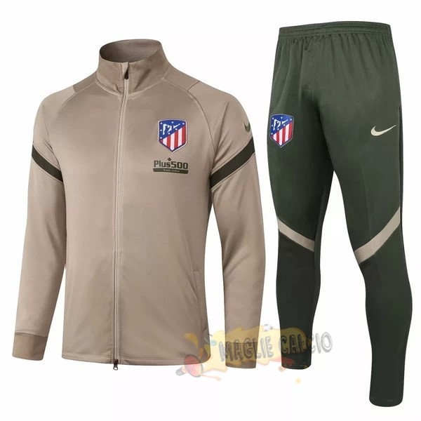 Accessori Maglie Calcio Nike Giacca Atlético Madrid 2020 2021 Marrone