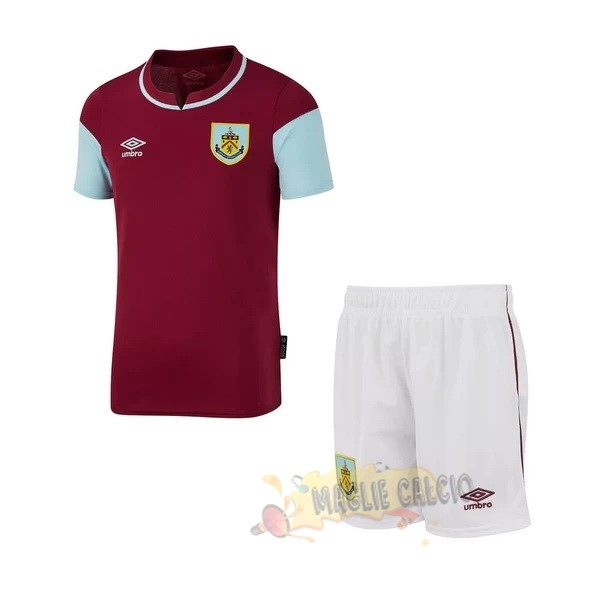 Accessori Maglie Calcio umbro Home Conjunto De Bambino Burnley 2020 2021 Borgogna