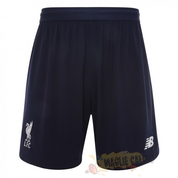 Accessori Maglie Calcio New Balance Away Pantaloni Liverpool 2019 2020 Blu Navy