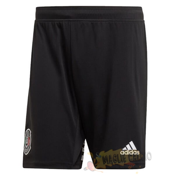 Accessori Maglie Calcio Adidas Home Pantaloni Messico 2019 Nero