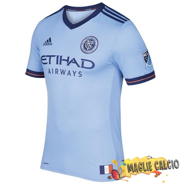 Accessori Maglie Calcio adidas Home Maglia New York City 17-18 Blu