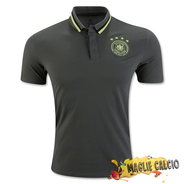 Accessori Maglie Calcio adidas Polo Germania 2016 Grigio