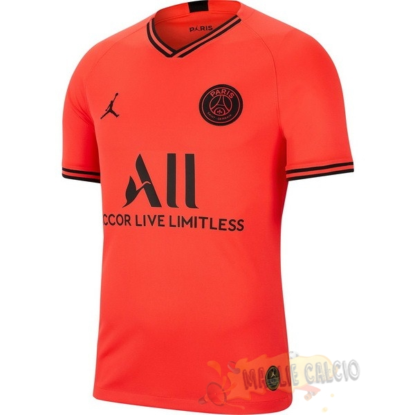 Accessori Maglie Calcio Jordan Away Maglia Donna Paris Saint Germain 2019 2020 Oroange