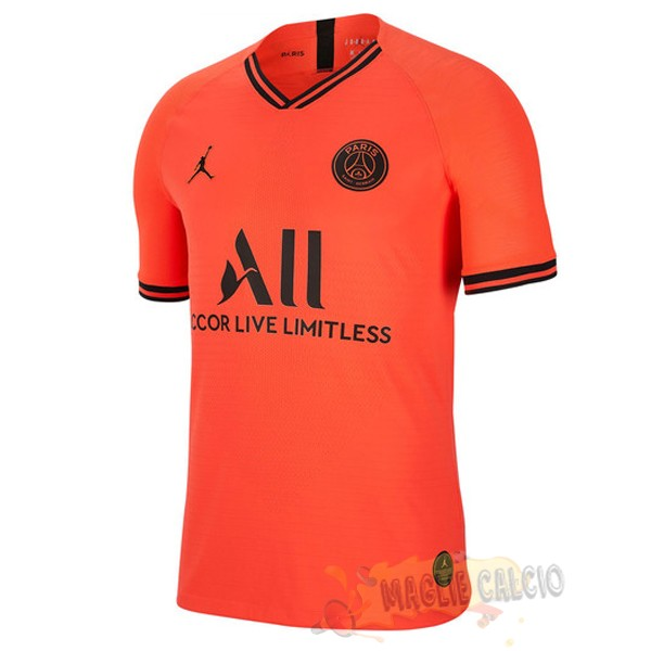 Accessori Maglie Calcio Jordan Thailandia Away Paris Saint Germain 2019 2020 Arancione