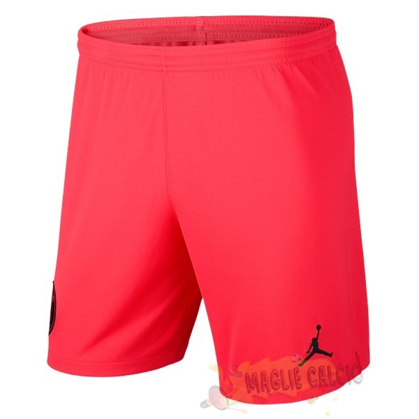 Accessori Maglie Calcio JORDAN Away Pantaloni Paris Saint Germain 2019 2020 Rosso