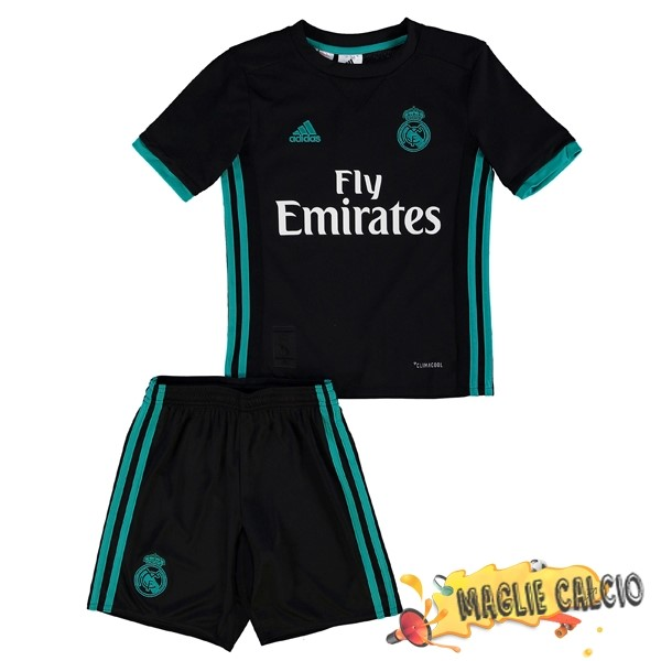 Accessori Maglie Calcio adidas Away Set Completo Bambino Real Madrid 17-18 Nero