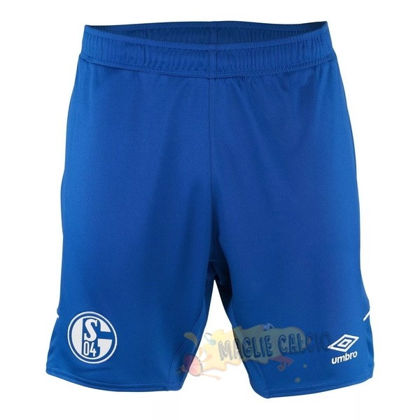 Accessori Maglie Calcio umbro Away Pantaloni Schalke 04 2020 2021 Blu